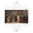 世界の絵画アートグッズのウィリアム・フリス《ロイヤル・アカデミー展の招待日》 Clear Multipurpose Case