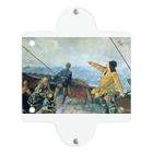 世界の絵画アートグッズのクリスチャン・クローグ《アメリカを発見したレイフ・エリクソン》 Clear Multipurpose Case