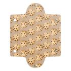 榎木ゆきのにくらしいチョコチップクッキーのパターン Clear Multipurpose Case