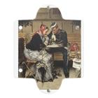 世界の絵画アートグッズのヴィルヘルム・ローゼンスタンド《コペンハーゲン、カフェ・ア・ポルタの外で》 Clear Multipurpose Case