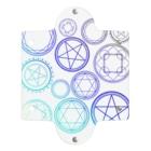 つきしょっぷの青色のグラデーションの魔法陣 Clear Multipurpose Case