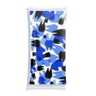 KAAK studioのTooth camo ブルー Clear Multipurpose Case