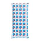 SANKAKU DESIGN STOREの赤青/青赤 ブラシ水玉模様。B Clear Multipurpose Case