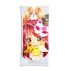 きゃぴあてれび♥ショップのハッピーアニマル(初期限定デザイン キャバリア・インコ・犬・鳥) Clear Multipurpose Case