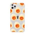 リズの味玉 Clear smartphone cases