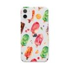 & colorsのアイスキャンディ Clear smartphone cases