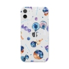 & colorsの星空スイーツ Clear smartphone cases