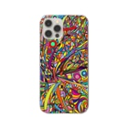 SPOOPY TOWNのRainbow explosion_スマホケース Clear smartphone cases
