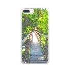 陽向の風景001 Clear smartphone cases