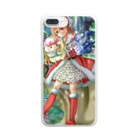 MKのぬくもりちゃんクリスマスver Clear smartphone cases
