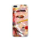 mowayのwoooman Clear smartphone cases