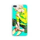 あまつ*のイエロー Clear smartphone cases
