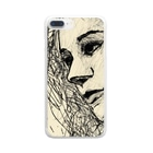 EMK SHOPSITE のface Clear smartphone cases