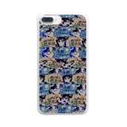お茶の間デジタルKIDSの安眠ハネムーンver.02 Clear smartphone cases