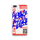JoiのWork it like a I talk itのあおとあか Clear smartphone cases