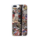 お店屋さんの圧縮 Clear smartphone cases
