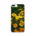クロレのflower Clear smartphone cases