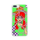 PerrymizukiのMODEL Clear smartphone cases