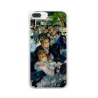 ART のルノワール/ムーラン・ド・ラ・ギャレット Clear smartphone cases