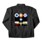 metao dzn【メタをデザイン】のインターステラエニアグラムTEE Coach Jacketの裏面