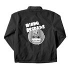 ウサギのウー by NIKUQ WORKSのNIKUQ RECORDS Coach Jacketの裏面