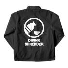 DRUNK SHREDDERのDRUNK SHREDDER Coach Jacketの裏面
