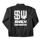 "SW!CH ""Suzuri"" 公式SHOPのSWICH_UR WP Coach Jacketの裏面"