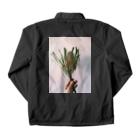 ジヅ子の植物 Coach Jacketの裏面