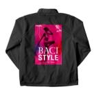 BACI  fashionの03-C Coach Jacketの裏面