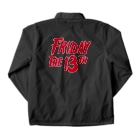 NIPPON DESIGNのFRIDAY THE 13TH Coach Jacketの裏面