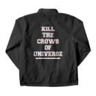 shoppのKILL the CROWS of UNIVERSE Coach Jacketの裏面