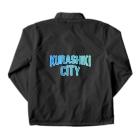 JIMOTO Wear Local Japanの倉敷市 KURASHIKI CITY Coach Jacketの裏面