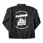 TBSラジオ 「かまいたちのヘイ!タクシー!」のKALISTENERジャンパー Coach Jacketの裏面
