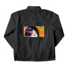 lifejourneycolorfulのThink Colorful Coach Jacketの裏面