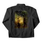 世界の絵画アートグッズのイリヤ・レーピン 《海底の王国でのサドコ》 Coach Jacketの裏面