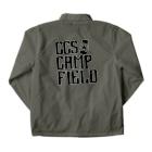CCS CAMP FIELD OFFICIALS SHOPのCCS CF Coach Jacketの裏面