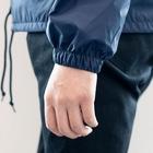 コンノイタのI'm happy Coach Jacketの袖の絞り部分