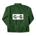 ゴージャス動画オフィシャルのG☆G ブランドロゴ Coach Jacketの裏面