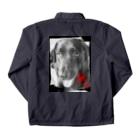 NM商会NAGオリジナルTシャツの愛しい貴女 Coach Jacketの裏面
