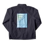 THE ANISAKIS MONSTERの先斗町BLUE Coach Jacketの裏面