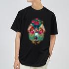 プシュケとラーガ【公式】のコラージュTee(白ロゴ) Dry T-Shirt