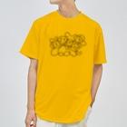 ゴロ展のグッズ|入船ゴローのドライT/c_005(ラインシリーズ) ドライTシャツ