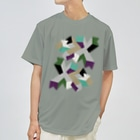 ゴロ展のグッズ 入船ゴローのドライT/d_007(トリミングシリーズ) Dry T-shirts