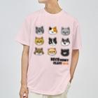 hitohana*+α《ヒトハナ+α》のネコノミ~2018 Dry T-shirts