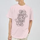 ゴロ展のグッズ 入船ゴローのドライT/b_006(ラインシリーズ) Dry T-shirts