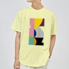 ゴロ展のグッズ 入船ゴローのドライT/f_002(トリミングシリーズ) Dry T-shirts