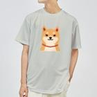 しばじるしデザインのいつもいっしょ(赤柴) Dry T-shirts