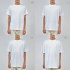"""イノたまごラボのWork""""out"""" from Home(白) Dry T-shirts"""