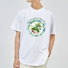 HIGEQLOのTrash away Spine Dry T-shirts