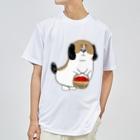 マツバラのもじゃまるお見舞い Dry T-shirts
